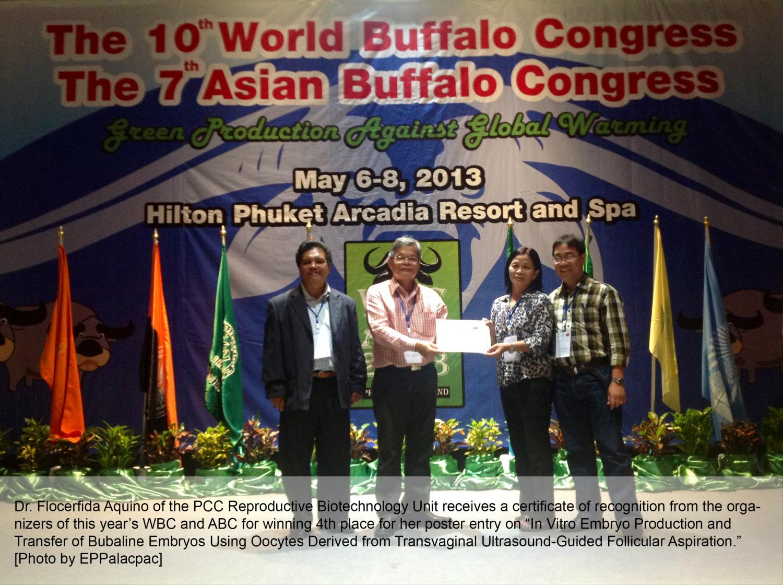 May 2013 – Philippine Carabao Center